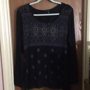 Beautiful Black Long Sleeve Top